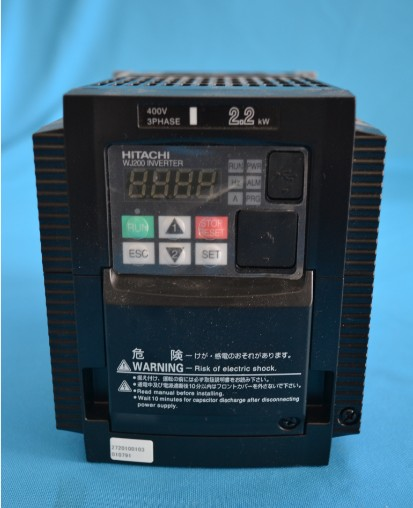 Hitachi inverter WJ200 series