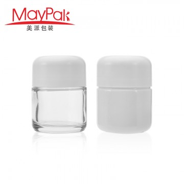 Hot sale 110ml Custom Childproof Empty Glass Weed Container -Maypak