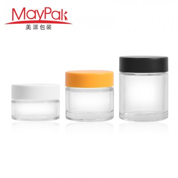 Customized childproof 30ml 60ml 90ml Empty Glass CBD Bottle -Maypak