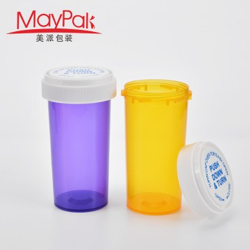 Custom 30ml 50ml 60ml 80ml 120ml 160ml 240ml Childproof plastic empty tobacco bottle-Maypak