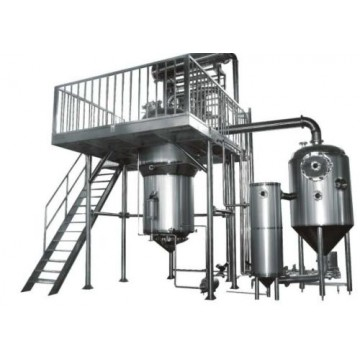 Extraction and Concentration Machines pilot plant