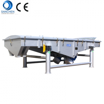 Stainless Steel 304 Linear vibrating screen