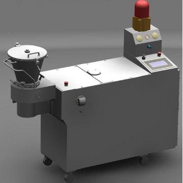 Spinning extruder machine