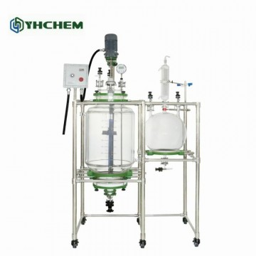 20L Jacketed Glass Crystallization Filter Reactor