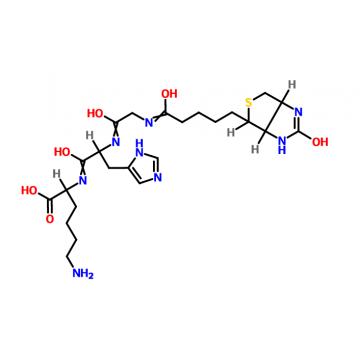 Biotinyl-GHK tripeptide