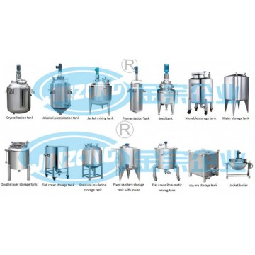 stainless sanitary stainless steel storage tank