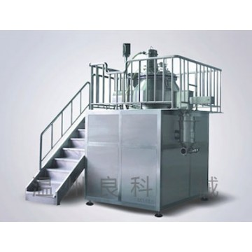 The highs Wet LHZS-SEROES mixer granulator