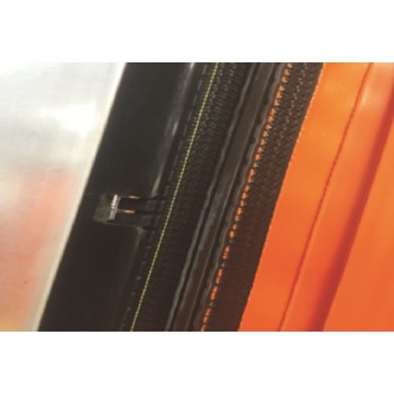 Zipper type quick rolling shutter door