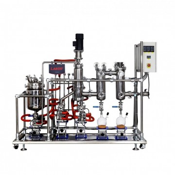Stainless Steel Wiped Film Molecular Distillation Unit