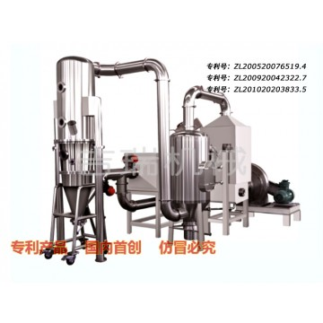 Closed circuit boiling dryer