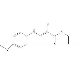 Ethyl (2z)-chloro[(4-methoxyphenyl)hydrazono]ethanoate