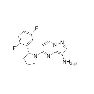 (R)-5-[2-(2,5-difluorophenyl)-1-pyrrolidine] pyrazole and [1,5- a] pyrimidine-3-amine