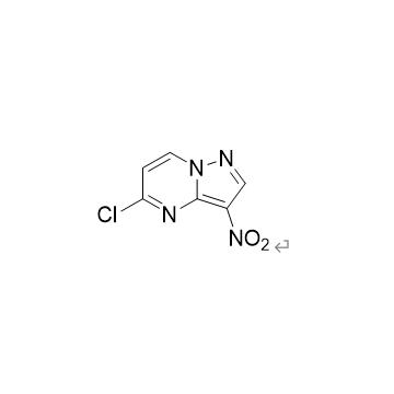5-chloro-3-nitropyrazole [1,5 a] pyrimidine