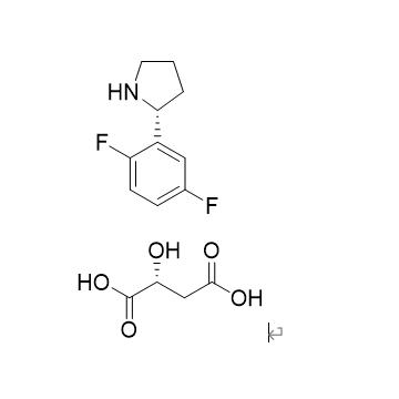 (R)-2-(2,5-difluorophenyl) pyrrolidine (R)-2-hydroxybutyric acid