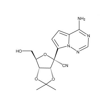 D-Altrononitrile, 2-C-(4-aminopyrrolo[2,1-f][1,2,4]triazin-7-yl)-2,5-anhydro-3,4-O-(1-methylethylide
