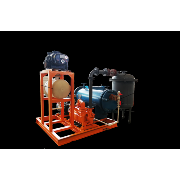 Roots liquid ring vacuum unit
