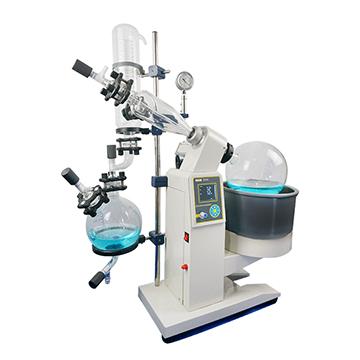 5l Evaporator Glass Vacuum Distillation Equipment Alcohol Distillation R1005