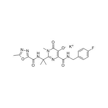 Raltegravir Potassium other active pharmaceutical ingredients