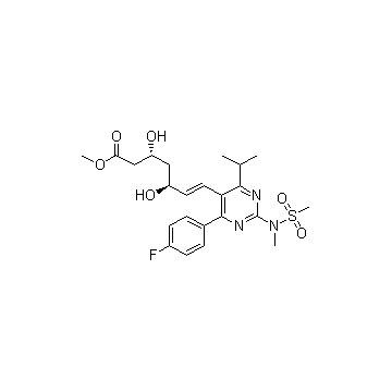 Rosuvastatin methyl ester chiral intermediates