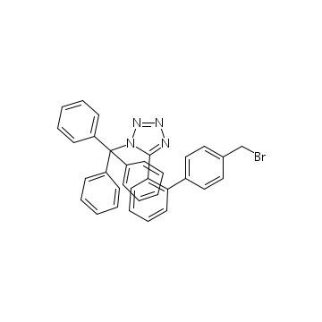 N-(Triphenylmethyl)-5-(4´-bromomethylbiphenyl-2-yl-)tetrazole(BBTT) intermediates