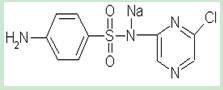 sulfachloropyrazine sodium