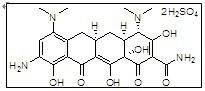 Tigecycline intermediate 9-Amino minocycline sulfate