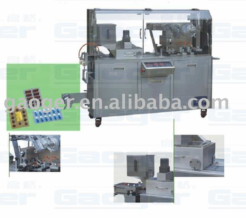 DPP-80 Alu-PVC blister packing machine