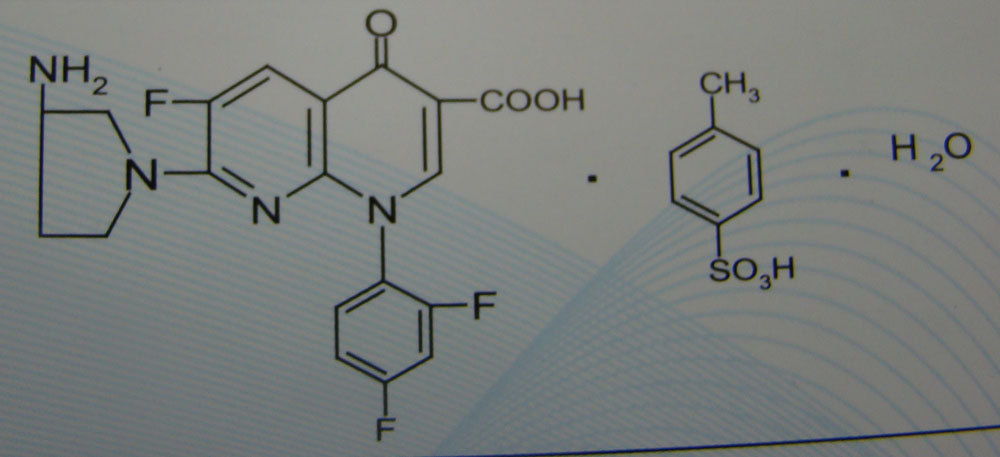 tosufloxacin tosylate-other antibiotics