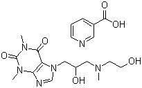 xanthinol nocotinate-cardiovascular system drugs